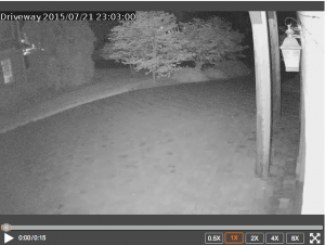 Outdoor Alarm.com camera picture
