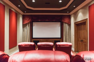Lenior City Theater Room