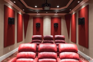 Lenior City Theater Room